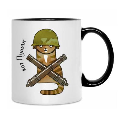 кот Пушак  из серии 'Military cats'