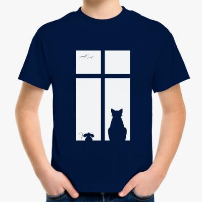 Детская футболка Вечер