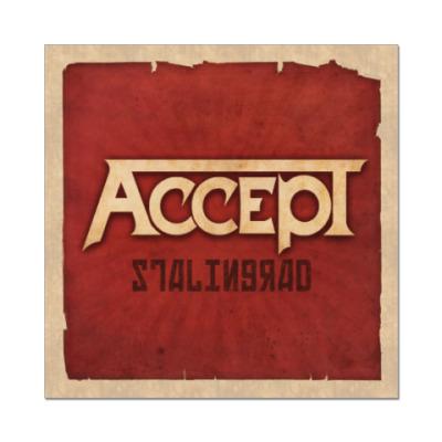 Наклейка (стикер) Accept