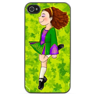 Чехол для iPhone Irish dancer girl