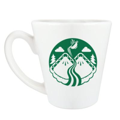 Чашка Латте Twin Peaks coffee Starbucks