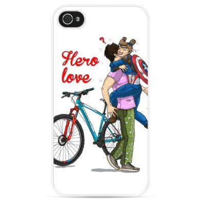 Чехол для iPhone Hero-вая любовь