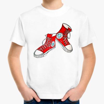 Детская футболка Кеды