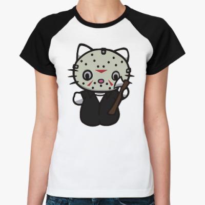 Женская футболка реглан Китти Джейсон
