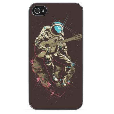 Чехол для iPhone 'Космонавт хиппи'