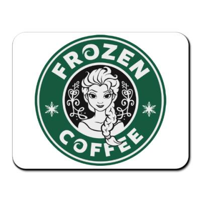 Коврик для мыши Frozen coffee