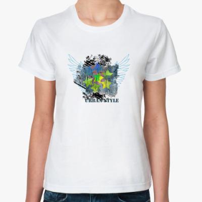 Классическая футболка Город