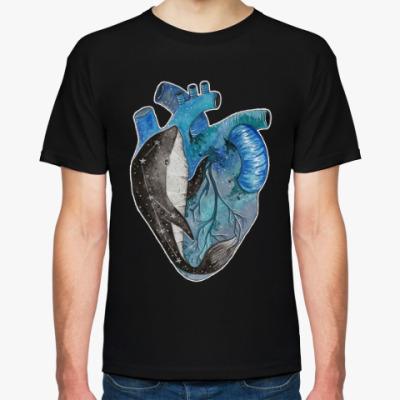 Футболка Сердце с китом
