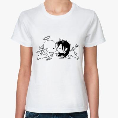 Классическая футболка Купидоны