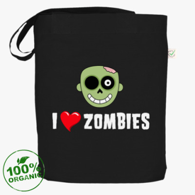 Сумка I love zombies