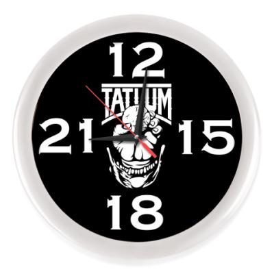 Настенные часы Часы, белые (без цифр)