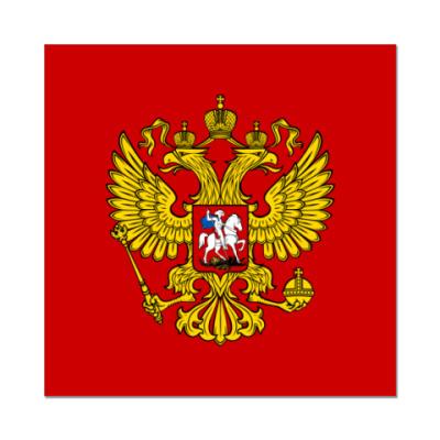 Наклейка (стикер)  Герб России
