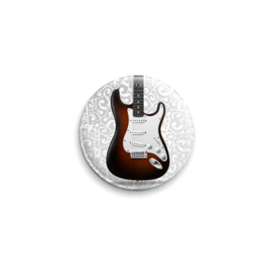 Значок 25мм  Stratocaster