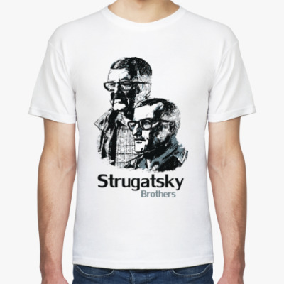 Футболка Братья Стругацкие
