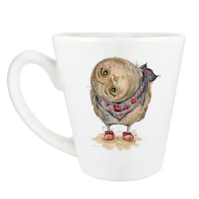 Чашка Латте Сова такая... сова