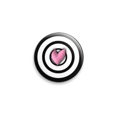 "Значок 25мм  ""Heart"""