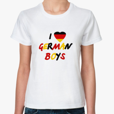 I love German boys
