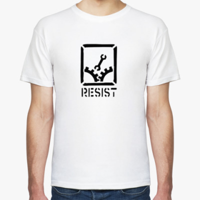 Футболка Resist