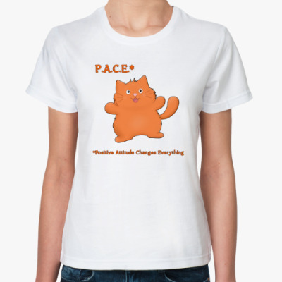 Классическая футболка Бодрый Пухлик
