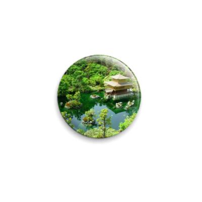 Значок 25мм  Японский садик