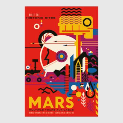 Постер Mars: multiple tours available