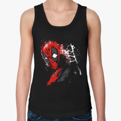 Женская майка Deadpool