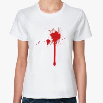 Классическая футболка Blood Splash