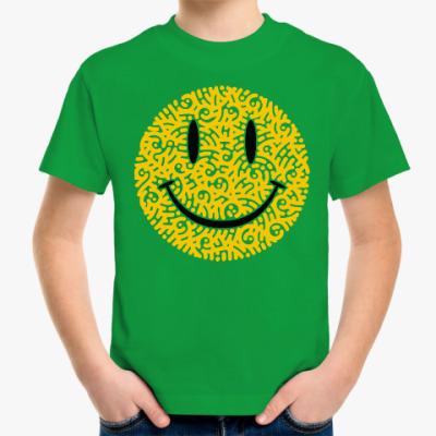 Детская футболка Смайлик