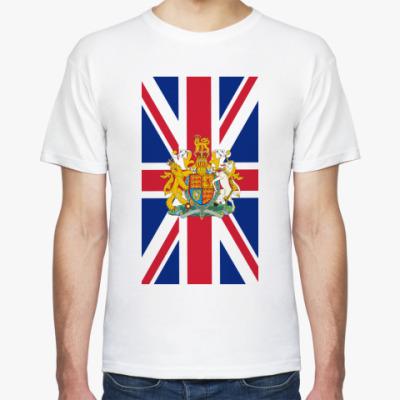 Футболка Флаг и герб Великобритании