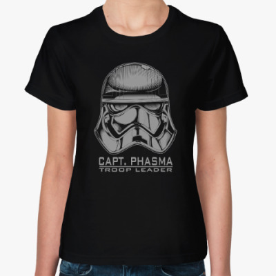 Женская футболка Капитан Фазма