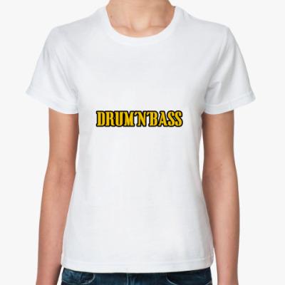 Классическая футболка Drum'n'Bass