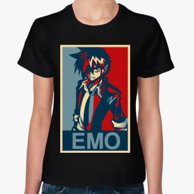 Женская футболка Эмо