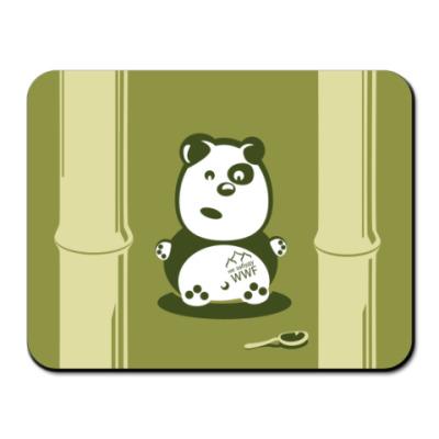 Коврик для мыши Панда, особо опасен