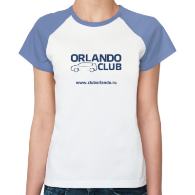 Женская футболка реглан   (уб)
