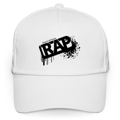 Кепка бейсболка RAP