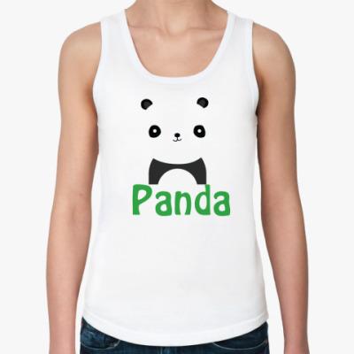 Женская майка Panda