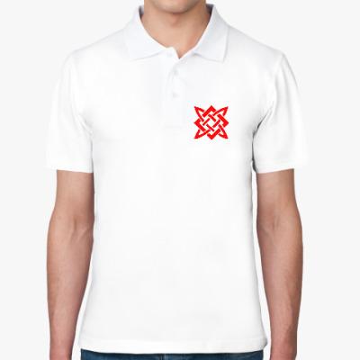 Рубашка поло Квадрат Сварога (Звезда Руси)
