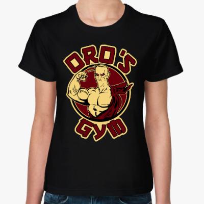 Женская футболка Оро (Уличный Боец)