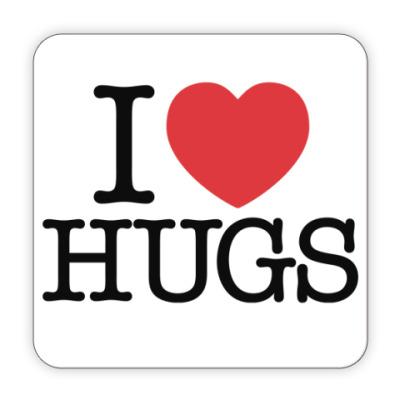 Костер (подставка под кружку) I love HUGS