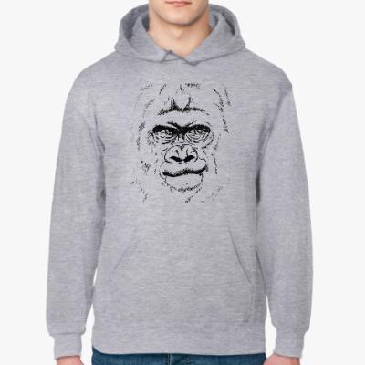 Толстовка худи горилла