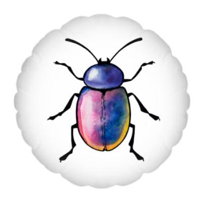 Подушка Радужный жук