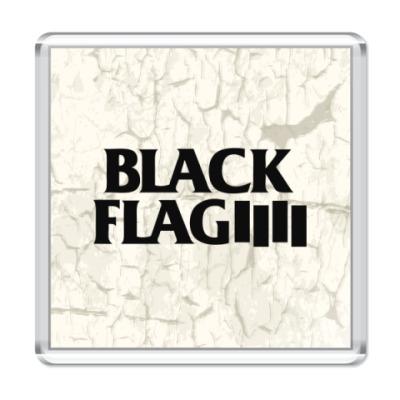 Магнит Black Flag