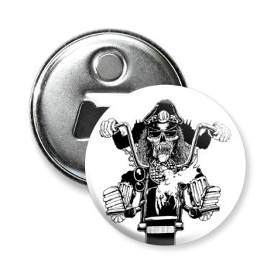 Магнит-открывашка -открывашка biker