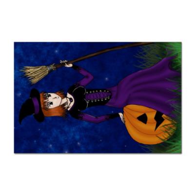 Наклейка (стикер) Ведьма