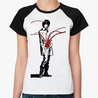 Женская футболка реглан Zone