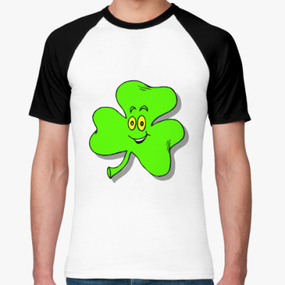 Футболка реглан Happy Shamrock