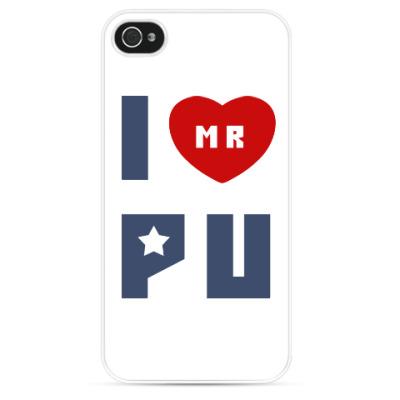 Чехол для iPhone Путин Родина Россия