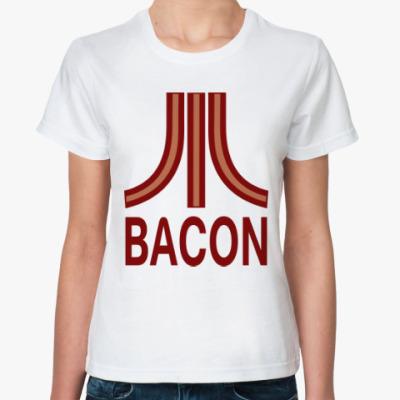 Классическая футболка Бекон