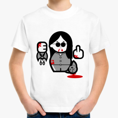 Детская футболка Ozzy Blood