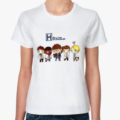 Классическая футболка House mult